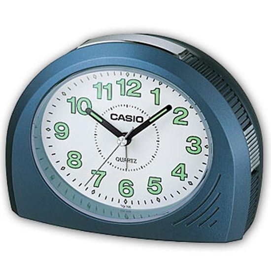 New Casio - TQ358-2 - Bell Chime Alarm Clock with Snooze