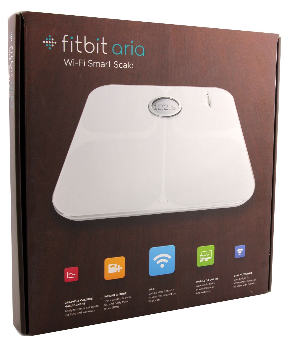 Fitbit  Aria Wi-Fi Smart Scale White FB201W