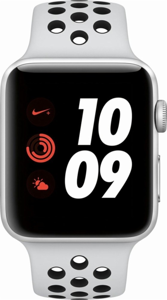 Apple Watch Nike+ Series 3 42mm Smartwatch GPS + Cellular, Silver Aluminum Case