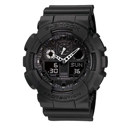 Casio Men's G-SHOCK - The GA 100-1A1 Military Series Watch